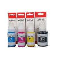 China Canon PIXMA MG5750 MG6850 Color Refill Ink With 70mL / Bottle Water Based wholesale