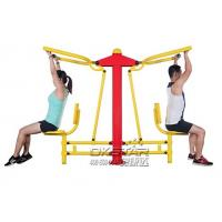 China China good quality cheap Outdoor Fitness Equipments with TUV certificates EN16630 pull down chair on sale