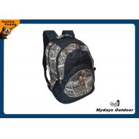 Personalized Padded Camo Hunting Backpack Adjustable 600D Polyester