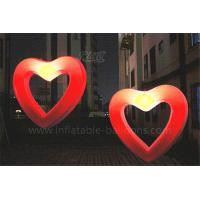 China Wedding Decoration Inflatable Lighting Balloon Inflatable Led Hollow Love Heart wholesale