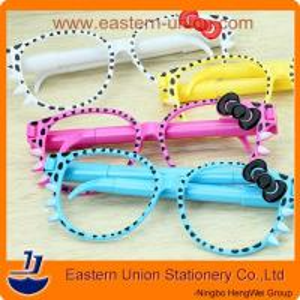 China Fashion glasses pens,promotional pens,novelty pens,cool pens on sale