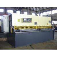 China Guillotine Oil Hydraulic CNC Shearing Machine For Plate Cutting wholesale