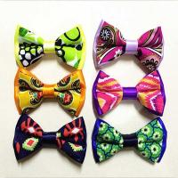 China Pre Tied Adjustable Ribbon Bow Crafts Handmade Mixed Assorted Color wholesale