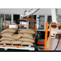Automatic Robotic Palletizer For Logsitics System / FMCG / Food Beverage