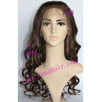 China 100% Virgin Remy Hair Front Lace Wig wholesale