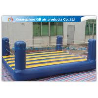 China Custom Sports Bouncy Boxing Inflatable Wrestling Ring For Adult / Kids wholesale