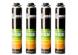China ISO14001 Fire Rated Spray Foam Insulation Expanding B1 wholesale