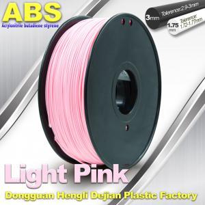 Quality High Performance Solidoole FDM 3d Printer Filament 1.75mm / 3mm ABS Filament for sale