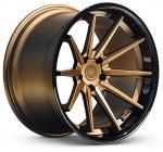 China 5*108 5*110 2 piece forged 5 stud alloy aluminum rim wheel wholesale