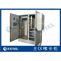 China IP65 Two Bays Outdoor Telecom Enclosure Air Conditioner Cooling Cabinet wholesale