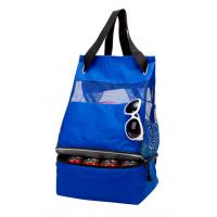 China 16 cans outdoor fishing beach picnic food insulated cooler tote backpack wholesale