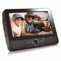 Buy cheap 7-inch Dual Screen Portable DVD Player with Built-in Dolby Digital Decoder and from wholesalers