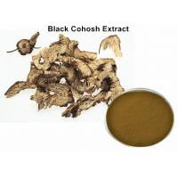 China Pure Black Cohosh Root Extract For Menopause , Dark Brown Powder Natural Botanical Extracts wholesale