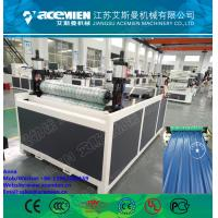 China 1050mm width ASA+PVC composite plastic roof tile machine for asa synthetic resin roof tile wholesale