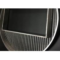 China 390 Mm Diameter Wedge Wire Screen Filter Mesh With High Precision Filtering Slot wholesale