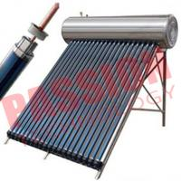 China Solar Heat Pipe Water Heater For Shower wholesale