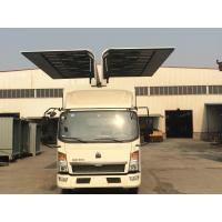 Buy cheap Sinotruk HOWO Small Cargo Truck 6*4 2 Tons Wingspan Truck for Transporting Cargo from wholesalers