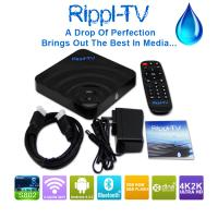 China Rippl-TV Amlogic S802 Quad Core Android TV Box Android4.4 XBMC 4K 2.0GHz 2GB 8GB Bluetooth 5G wifi H265 HDD Player wholesale