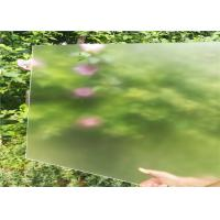 Buy cheap 4mm Thickness Ultra Clear Tempered Glass , Solar Tempered Glass Flat Edge from wholesalers