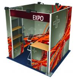 China Custom Design Modular 10x20 Portable aluminum truss Exhibition Trade Show Booth wholesale