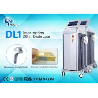 China 808nm Painless Diode Laser Hair Removal Machine For whole Body Hair Reduction wholesale