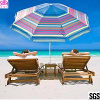 Buy cheap 2018 OEM new products sun beach umbrella outdoor with customized size factory in from wholesalers