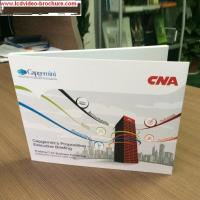 China CE Digital Video Booklet For Presentations Digital Advertising Player , Matte Cover wholesale