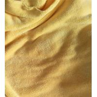Buy cheap Microfiber 150cm width 550gsm Yellow Coral Fleece High Quality 150D/144F from wholesalers