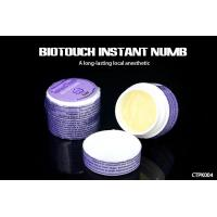 China 12g / Piece Biotouch Instant Numbing Cream For Tattoos Safe And Fast Pain Control wholesale