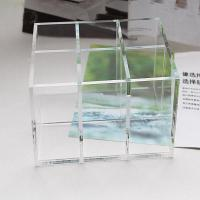 Quality Clear Acrylic Cosmetic Display desktop Cosmetic lipstick Organizer for sale