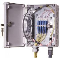 China IP55 OF Indoor / Outdoor Fiber Termination Box ,8 Fibers Small Optical Termination Box wholesale