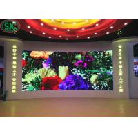 Buy cheap P3 111111dots/sqm indoor Led Advertising screen Full Color With 2500 Cd/Sqm 3 years warranty from wholesalers