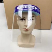 China Double sided  PET Splash Face Shield , Face Shield Medical Use CE FDA Certification wholesale