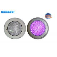 China Outdoor 6w RGB DMX Surface Mounted LED Pool Light For Swimming Pool / Pond / Fountain wholesale