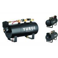China Durable Black Small 2 In 1 Air Lift Suspension Compressor With 1.0 Gallon Air Tank wholesale