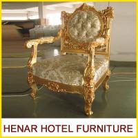 China Hotel Luxury Furniture King Throne Chair / Dining Chair / Salon Chair Standard wholesale