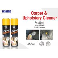China Carpet & Upholstery Foam Cleaner For Lifting Away Dirt And Debris Without Harming Surface wholesale