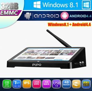 China PiPO X8 Windows8.1 mini PC/TV box Intel quad core RAM 2GB ROM 32GB WIFI LAN for H-D-M-I on sale