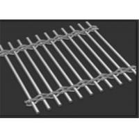 China 3.0mm Rod Wire Building Decorative Metal Mesh for Cladding Wall Curtains wholesale