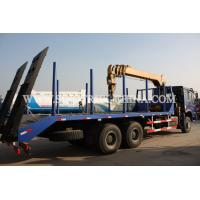 China Diesel 6×4 Cargo Truck Mounted Crane , 12TONS Truck Bed Lift Crane Model SQ12SK3Q wholesale