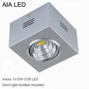 China IP42 high PF adjustable COB 15W led down light&LED Grille light wholesale