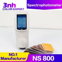 China 3nh Chroma Meter Portable Spectrophotometer NS800 Optical Geometry 45/0 Color Tester wholesale