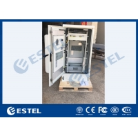 China Galvanized Steel Outdoor Telecom Cabinet With Front & Rear Access 27U Rack wholesale