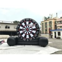 China Customized Outdoor Foot Dart Inflatable Sticky Soccer Dart Board Game wholesale