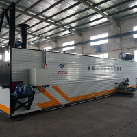 China Carbon Steel Container Loading Trolley Drum 17kw Bitumen Melting Machine wholesale