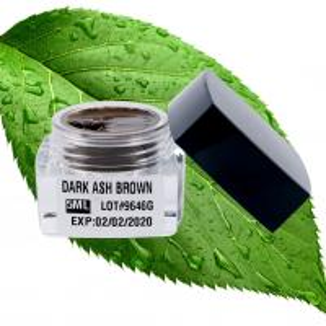 China Microshading Pigment , Permanent Makeup Pigments For Professional Eyebrown 5ML Dark Ash Brown wholesale