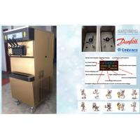 China Single Flavour Automatic Frozen Yogurt Machines With 68L/H Capacity , 2P Horse Power wholesale