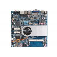 China Dual Channel 24bit LVDS Industrial PC Motherboard , Intel® Core™ i5-4200U Processor wholesale