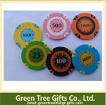 China Acrylic Custom RFID Poker Chip Single Poker Chips wholesale
