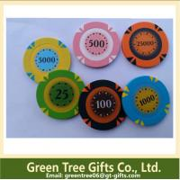 Quality Acrylic Custom RFID Poker Chip Single Poker Chips for sale